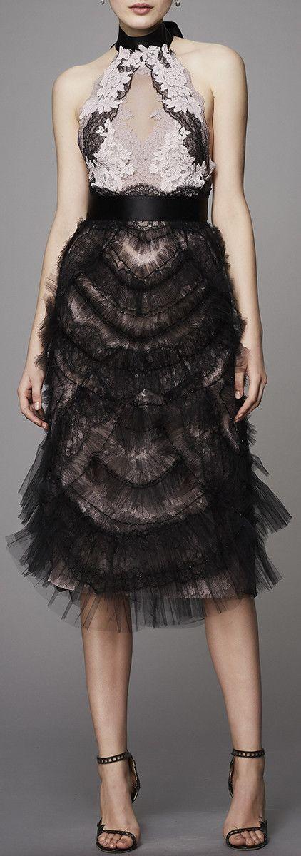 Multi-Ruffle Tulle Dress