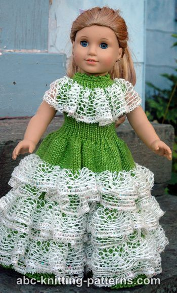 192 best Patterns to knit American Girl Doll Clothes images on ...
