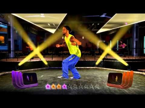 Zumba Fitness Rush - El Batazo - medium intensity Reggaeton + multiplayer (2 players) gameplay - YouTube