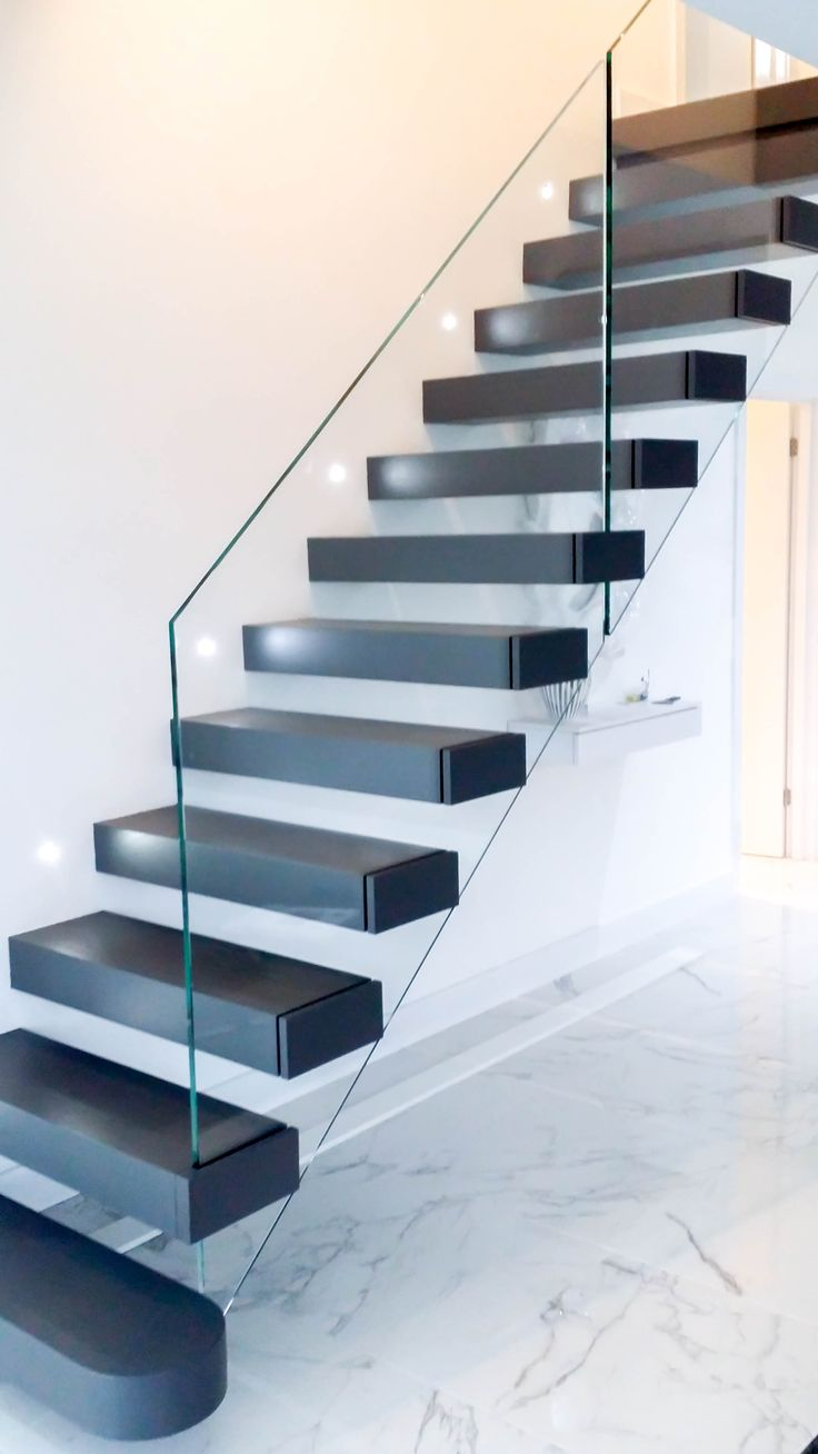 17 best images about floating staircases on pinterest Floating stairs
