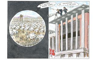 Πολιτική γελoιογραφία: Είναι μεγάλο το νούμερο!...
