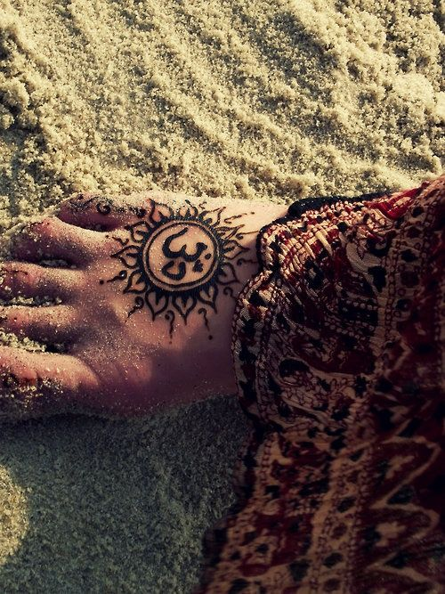 Wouldn't get the ohm symbol on my foot but I love the design on this one