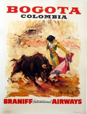 Columbia: Events Poster, Travel Poster