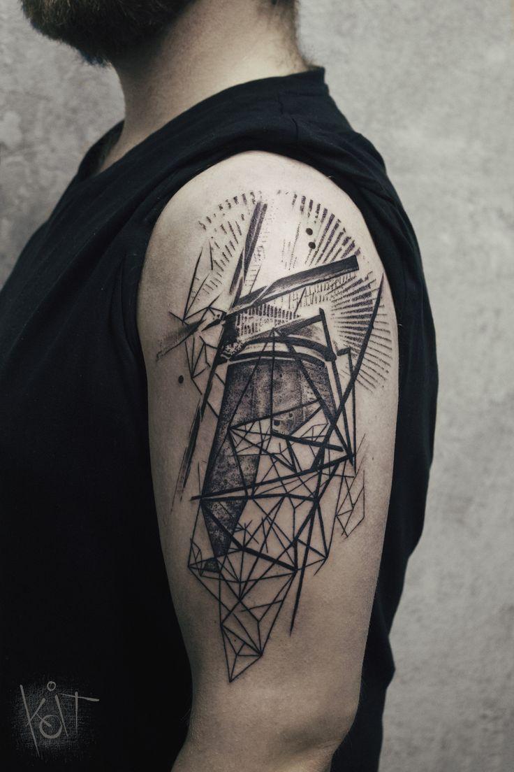 dutch windmill tattoos the image kid has it. Black Bedroom Furniture Sets. Home Design Ideas