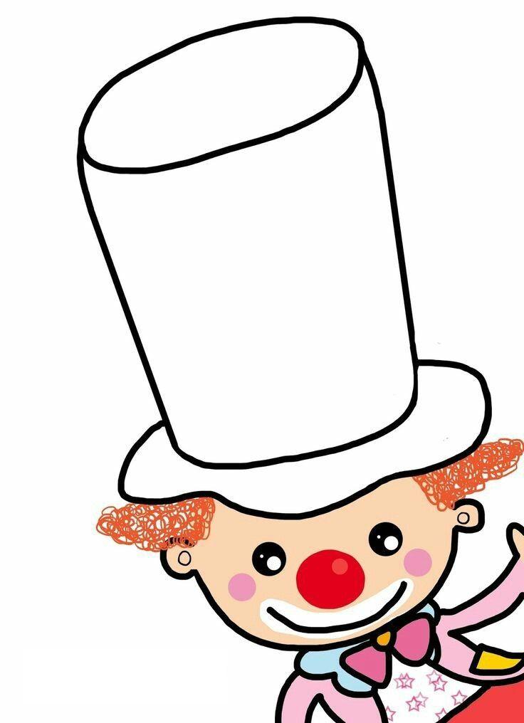 knutselen circusmuts versieren carnaval thema knutselen