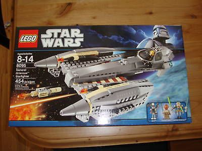 LEGO Complete Sets and Packs 19006: Star Wars Lego 8095 General Grievous Starfighter Nib -> BUY IT NOW ONLY: $82.99 on eBay!