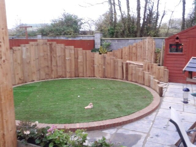 26 best my garden design images on pinterest for Garden design railway sleepers