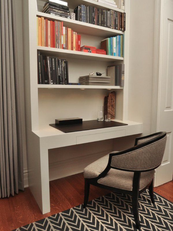 Le Bureau Avec étagère   Designs Créatifs   Archzine.fr Ideas
