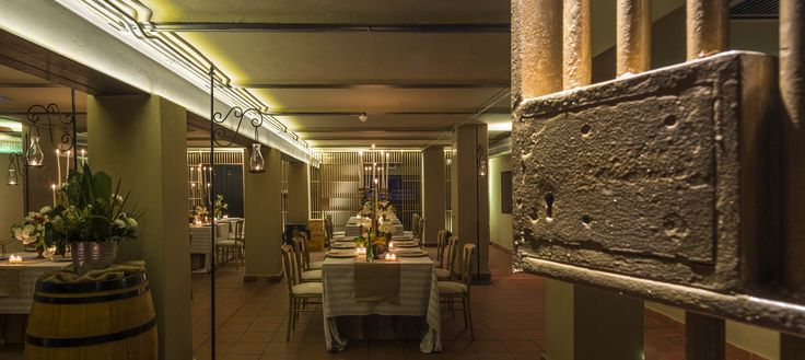 #TheReserve at Taj Cape Town's most unique setting - the original walk-in vault. This incredible space lends itself as a multi-function event venue.