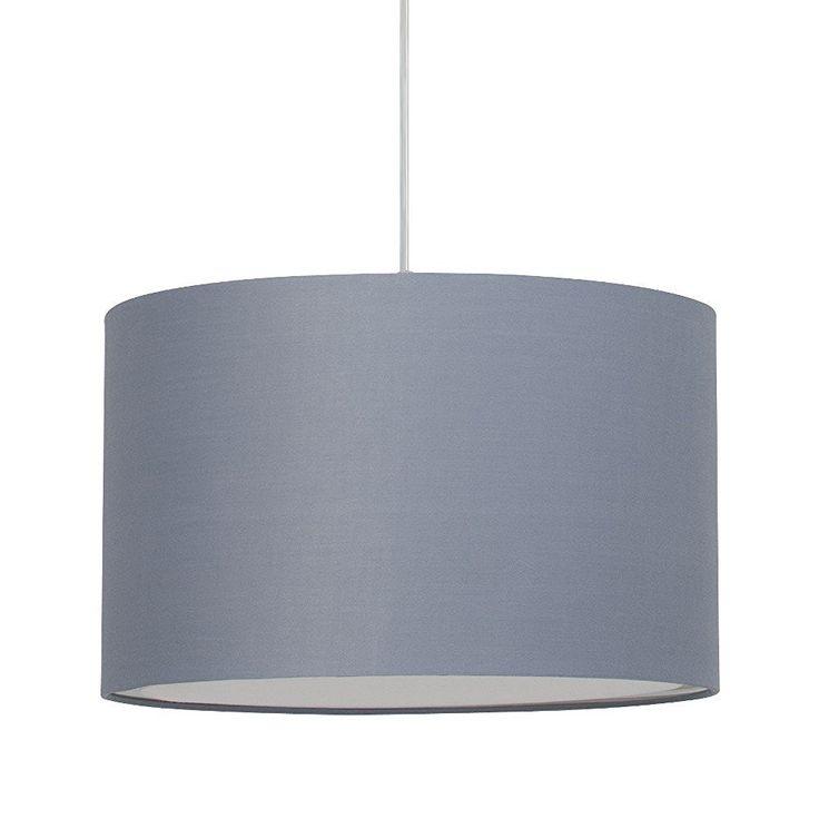 Brilliant AG 93374/22Hängeleuchte Metall/Textil 60W E27grau: Amazon.de: Beleuchtung