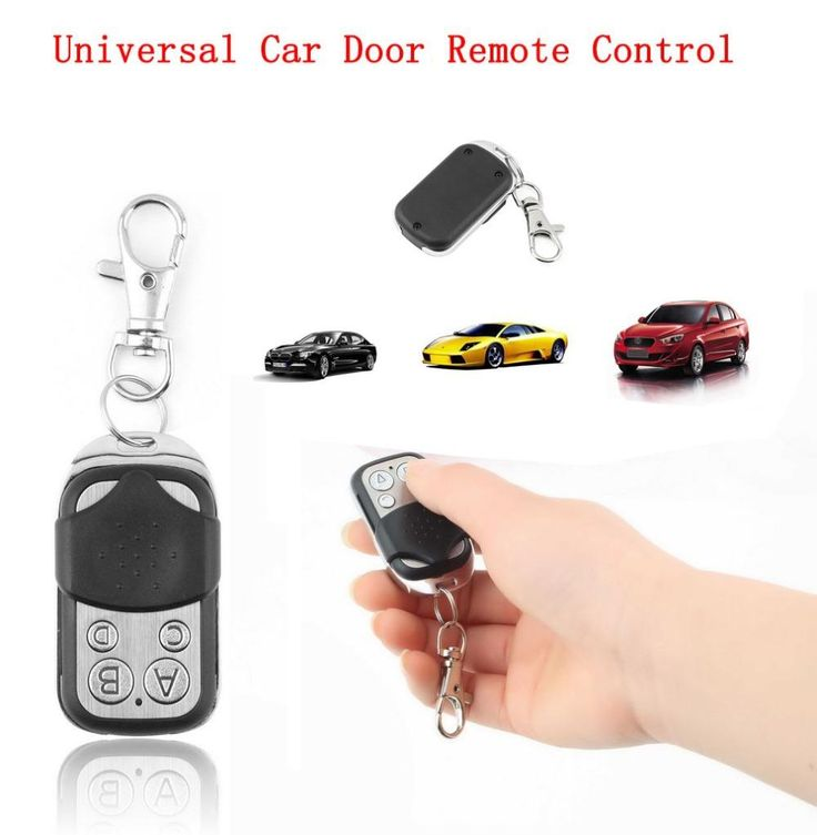 [Visit to Buy] Electric Cloning Universal Gate Garage Door Remote Control Fob 433mhz Key Fob Hot Selling #Advertisement
