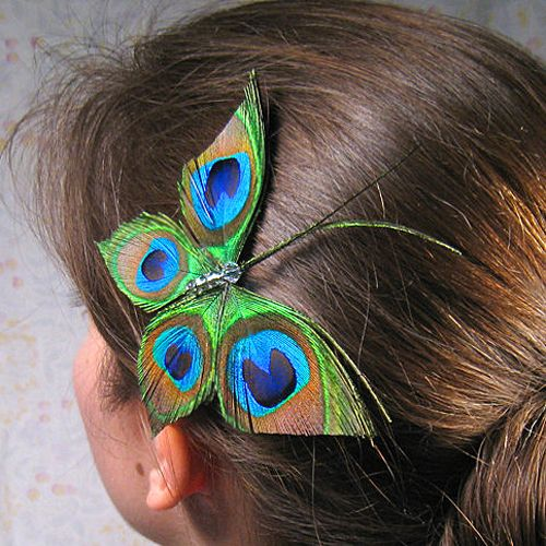 easy to make peacock butterfly!