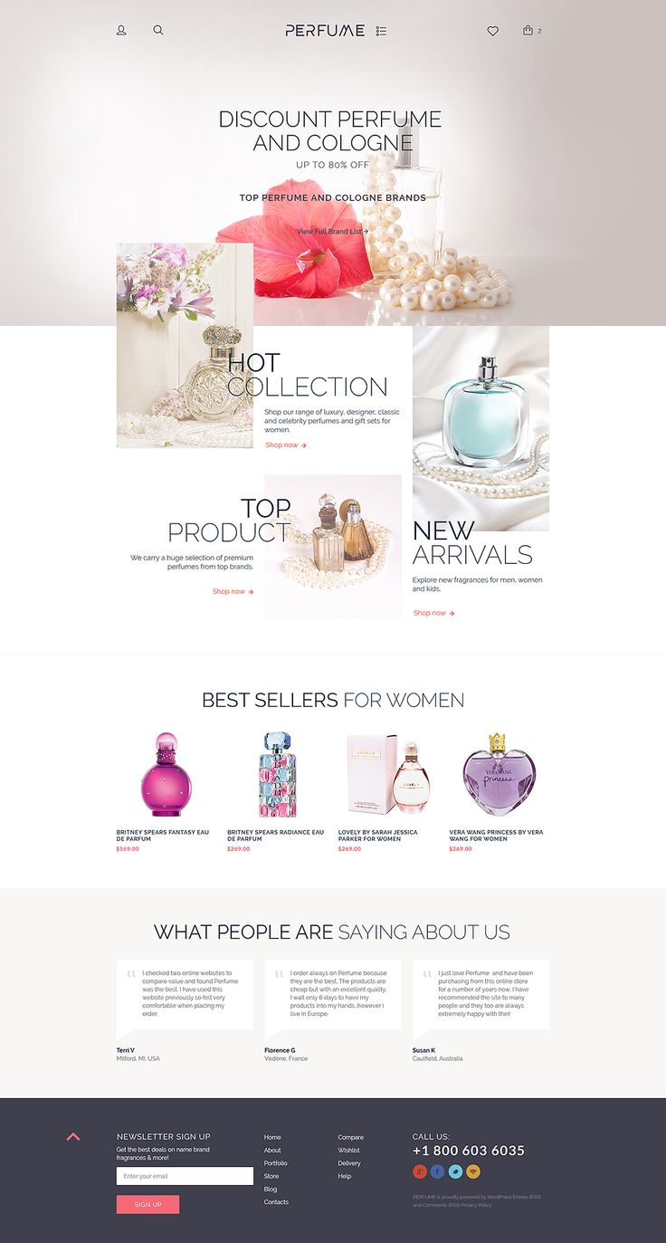 Cosmetics WooCommerce Template
