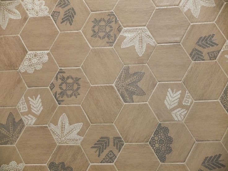 Natucer Crochet tile. Tile of Spain reveals design trends innovation at CEVISAMA…