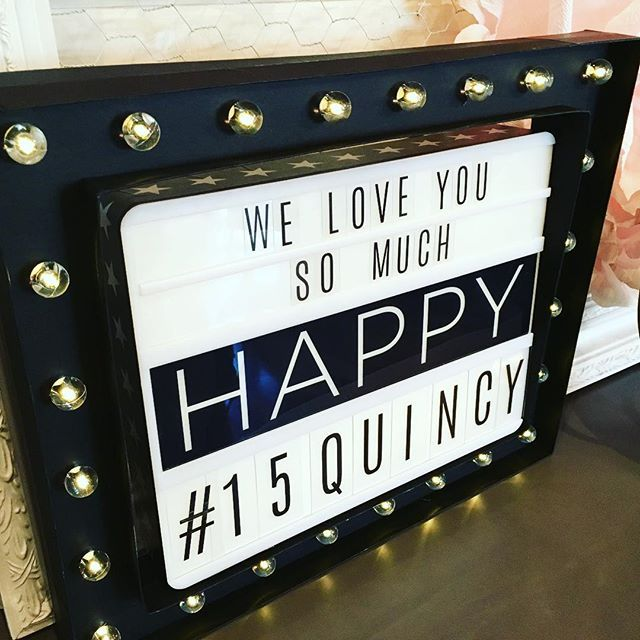 For those who asked: the lightbox and this marquee frame are available (and on sale) at @scrapbookcom #hslightbox #lightbox #onsale