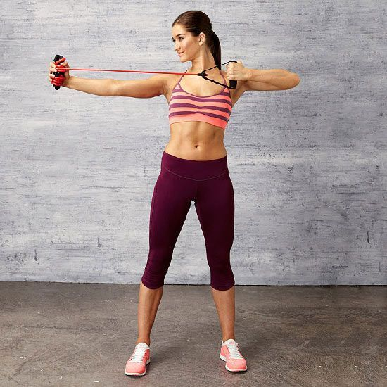 Workout With Bands For Arms: 18 Best Tae Bo & Workout Images On Pinterest