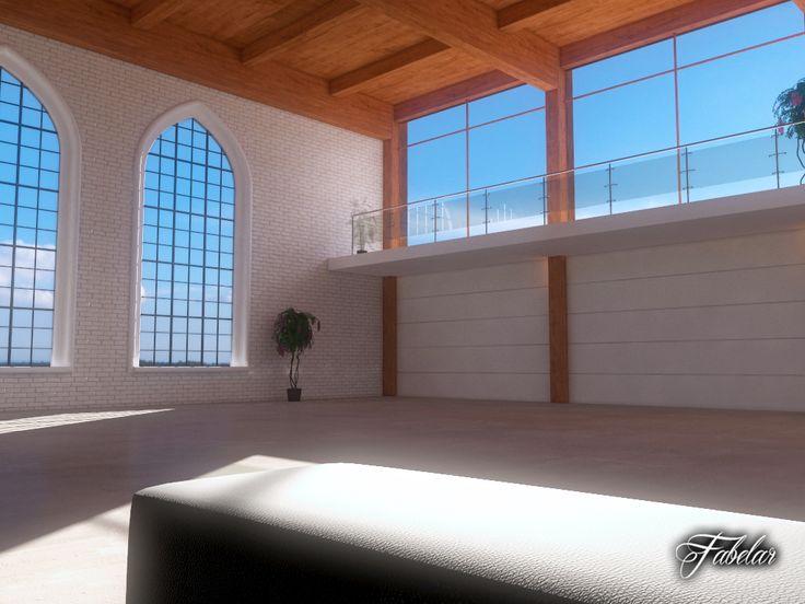 Luxury garage   3D Model. 75 best images about Garage Interiors on Pinterest   Showcase
