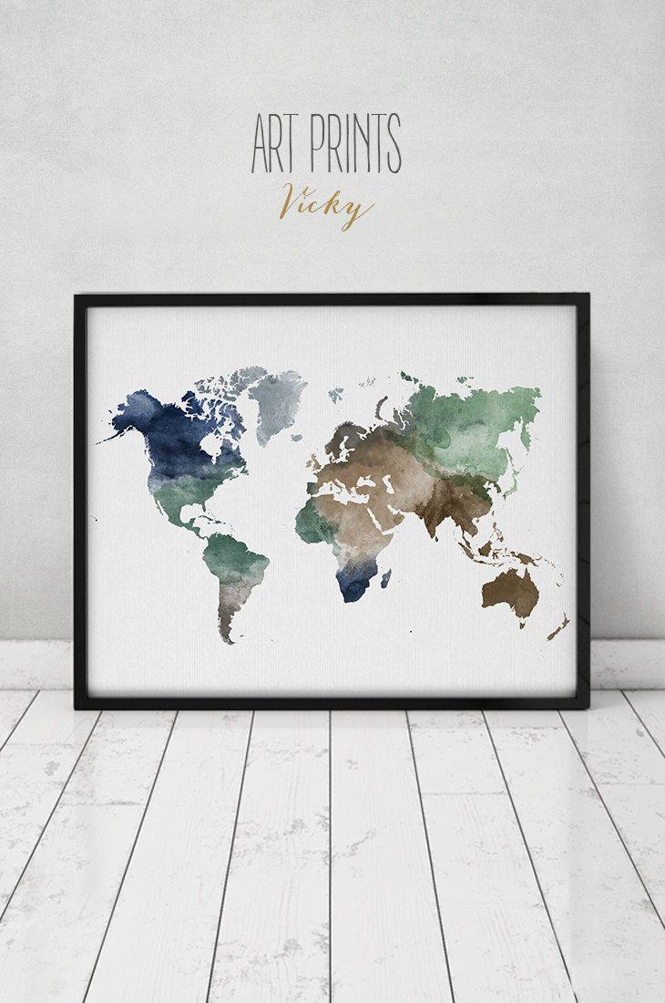 Die besten 25 weltkarte zum ausmalen ideen auf pinterest - Weltkarte basteln ...