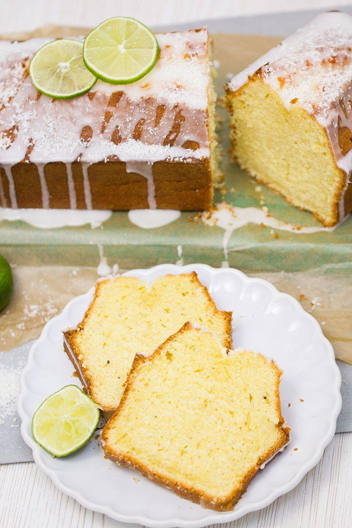 Kokos-Limetten-Kuchen - Rezept | verzuckert-blog.de
