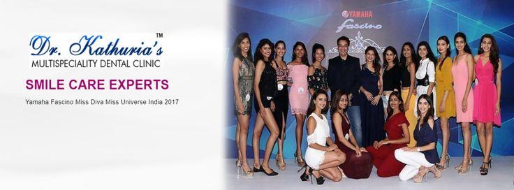 Dr. Kathurias - SMILE CARE PARTNER  YAMAHA FASCINO MISS DIVA MISS UNIVERSE INDIA - 2017 #DrKathurias #MissDiva2017 #MissUniverse2017