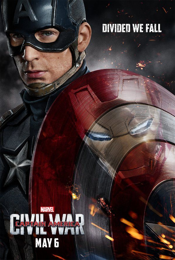 """Divided We Fall"" - Two Awesome Posters Hit for 'Captain America: Civil War' — Latino-Review.com"