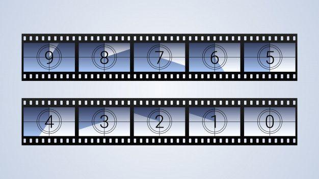 Zestaw Klatek Odliczanie Filmu Premium W Premium Vector Freepik Vector Ramka Winobranie Granica Aparat Fotograficzny Frame Set Countdown Frame
