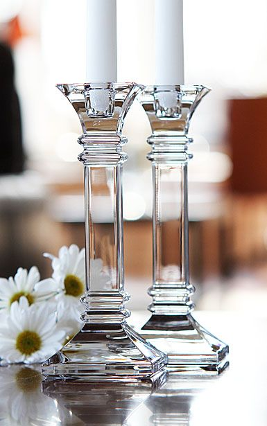 Marquis by Waterford                                             Treviso Candlesticks, Pair