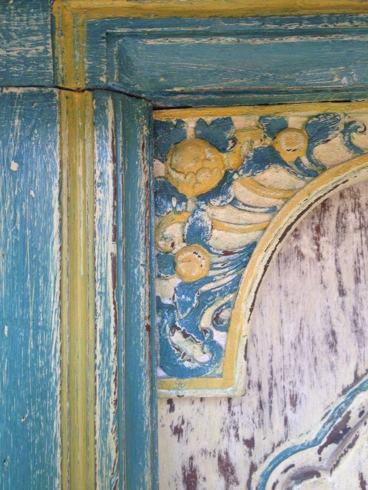 Reclaimed Wood Bali door