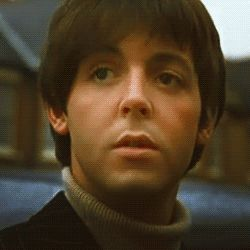 1965 - Paul McCartney in Help! film.