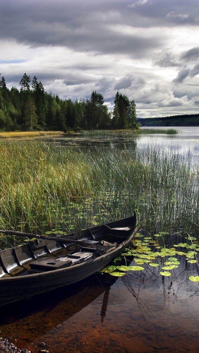 Lake-Siljan-Leksand-Dalarna-Province-Sweden