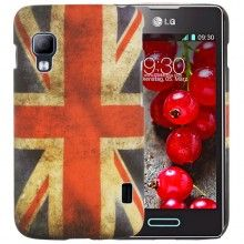 Cover Optimus L5 2 - Ultrasottile Bandiera UK € 5,99