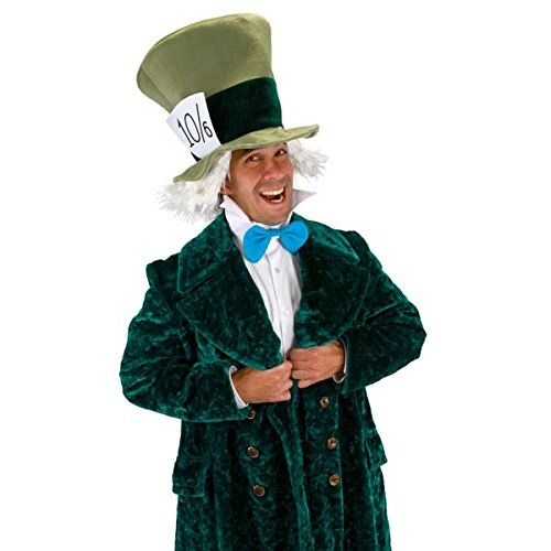 Amy: This is my Mad Hatter costume, I made most of it my self except the contacts and the top hat, the make up was really fun, I did lose a...