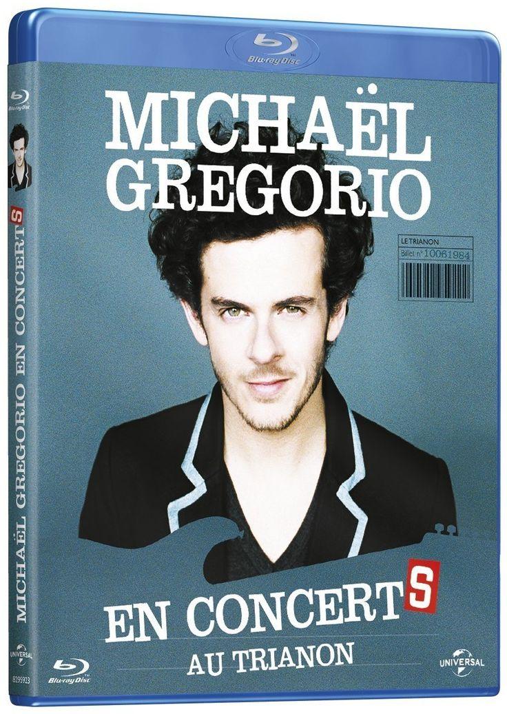 Michael Gregorio en concertS en dvd/blu-ray