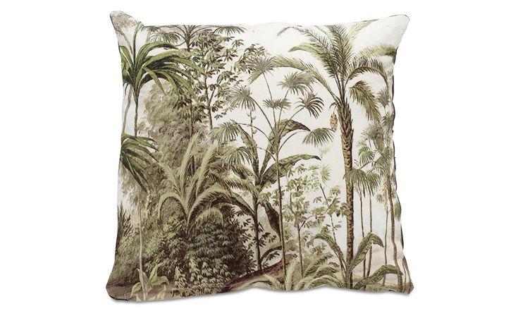 Kissen - Palm Kissen - Grün - Stoff