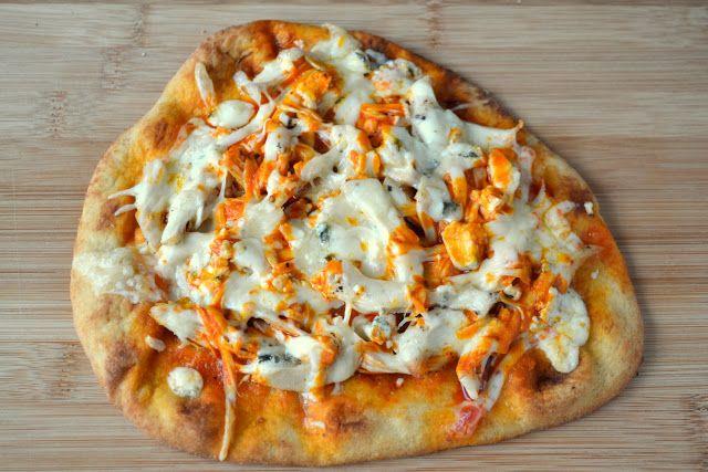 Buffalo Chicken Flatbread Pizza