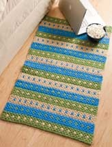 Dotted Stripes Rug: Crochet Ideas, Crafts Ideas, Crafts Crochet, Crochet Projects, Dots Stripes, Stripes Rugs, Crochet Rugs, Knits, Crocheted Rugs Patterns