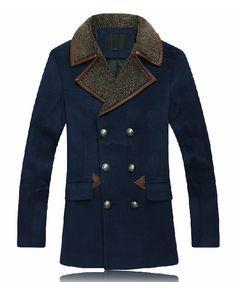 brown pea coat black girl pics | Pea Coats: New Mens Pea Coat Styles At PerfectPeaCoat.com