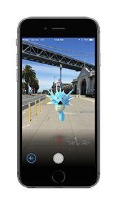 Pokémon GO Camera Screenshot