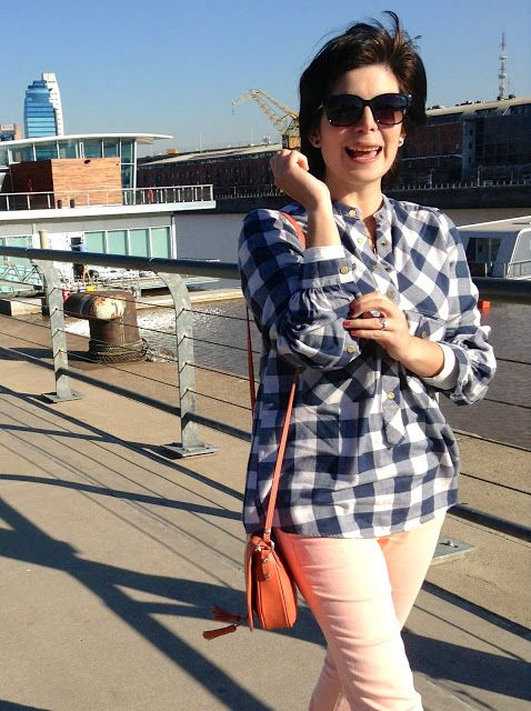 Serendipity!: Plaid Shirt - Style, Look of the day, Fashion, Blog, Street Style