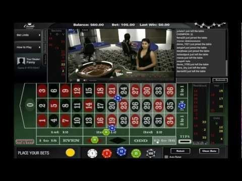 Live Roulette at Castle Casino - Dealer Fanny http://www.castlecasino.com/live-roulette