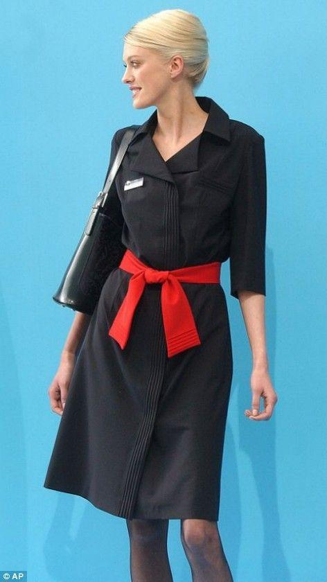 Flight attendant uniform