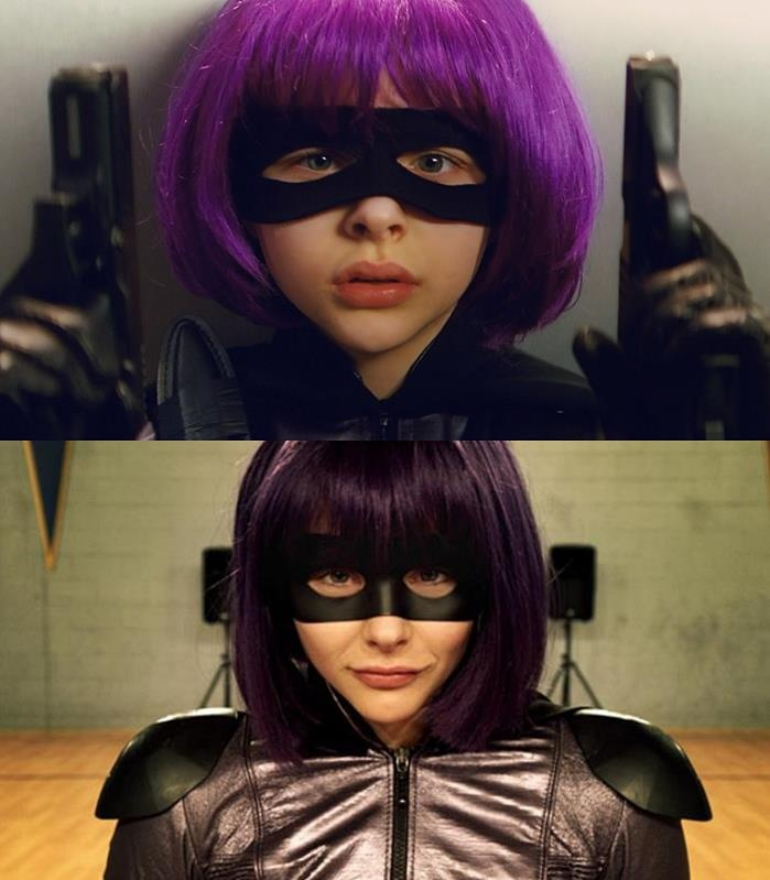 Hit Girl! I've decided I will have this hair at some point. I'm in love with it!