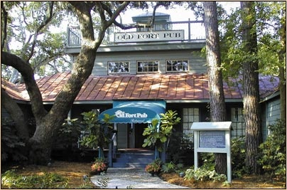 """Old Fort Pub"" Hilton Head Island, SC. One of the best meals I have ever had."