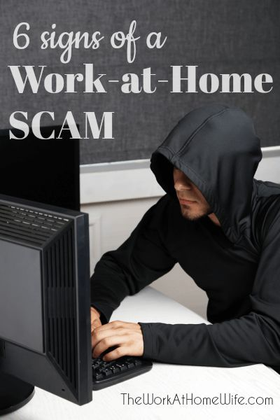 Great list of ways to spot a legitimate work-from-home job