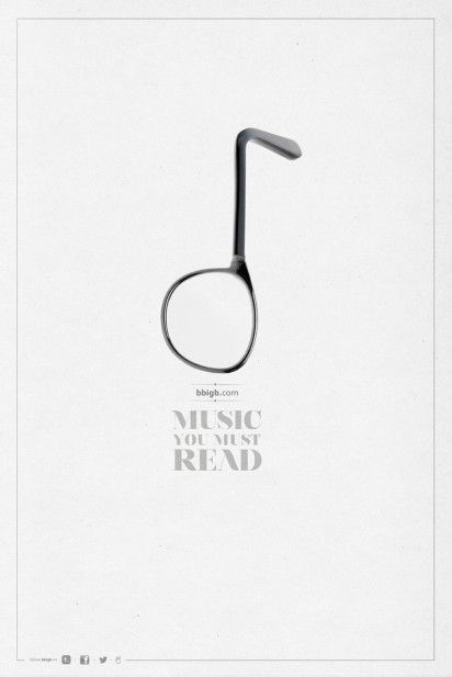 Great Ad for a music blog