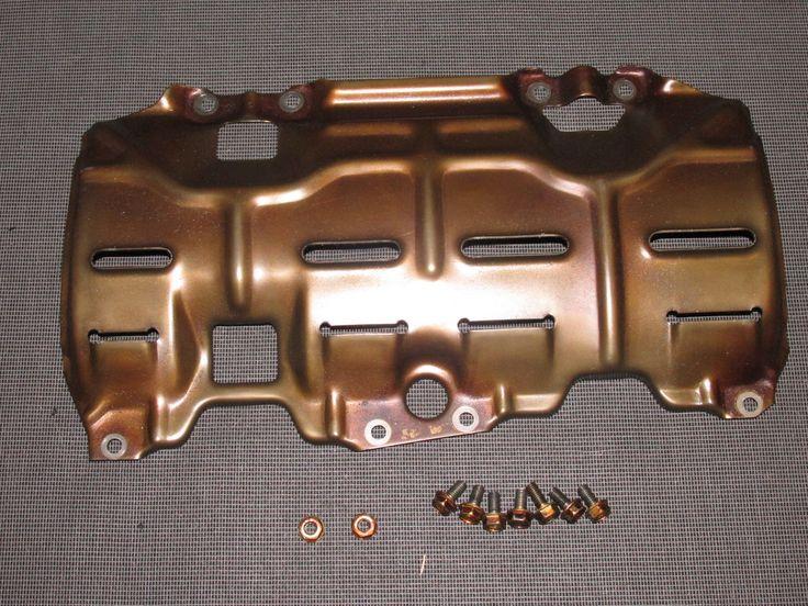 93 94 95 Honda Del Sol OEM B16 Engine Oil Pan Baffle Cover Plate