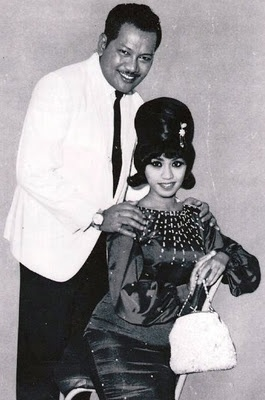 Another one of Saloma + P.Ramlee