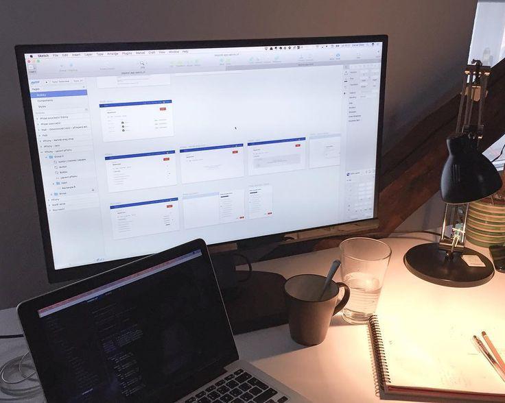 Je fajn si odpočinout od psaní zdrojových kódů a nakreslit si kousek UI pro webovou aplikaci. Potřebovali jsme navrhnout úpravy layoutu a chování podle připomínek z testování. Tak jsem se pustil do rozkreslování částí a stavů do Sketch a užívám si to