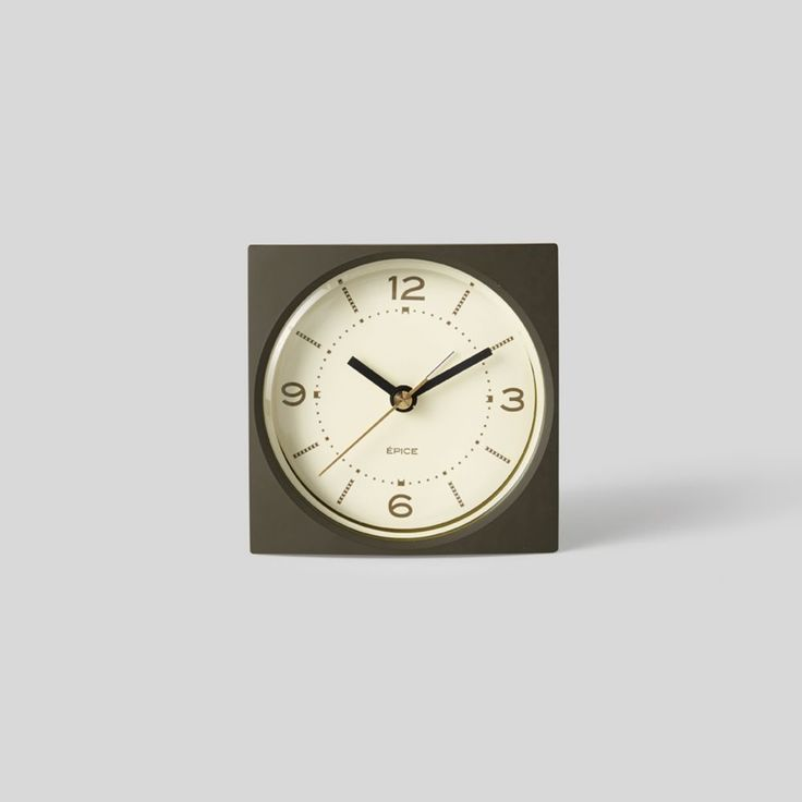 We hunted high and low for the perfect, simple alarm clock and have found it in the Epice.    Designed and made in Japan by Lemnos, it is beautiful in it's practicality and looks 110% better on your bedside than your smart phone.