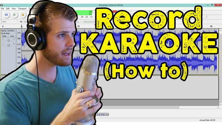 How to Record Vocals for Karaoke   How to Use Audacity